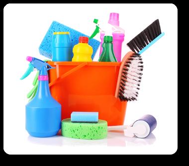 städmaterial ingår när det städas i uppsala